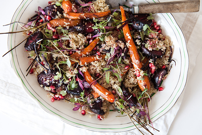 Quinoa and veg recipe