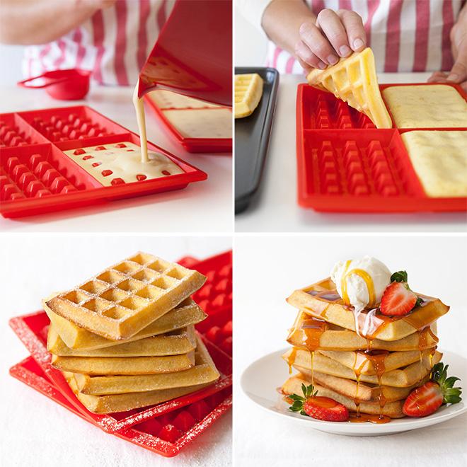 How It Works Lekue Waffle Maker Yuppiechef Magazine