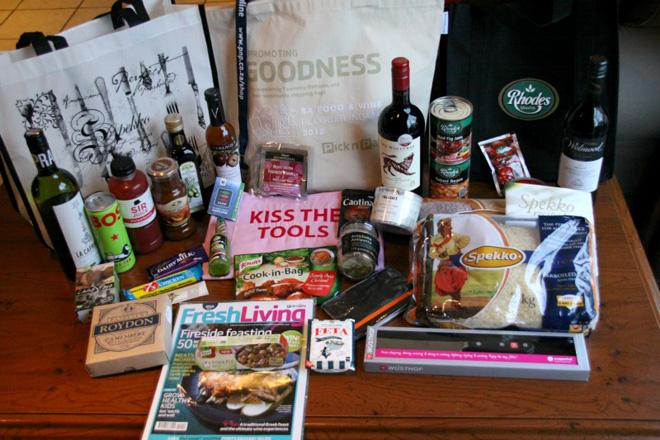 Food-bloggers-indaba-goodie-bag