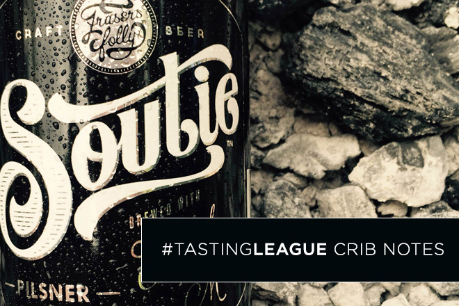 Tasting League crib notes: Fraser's Folly Pilsner