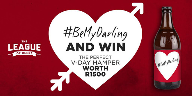 #BeMyDarling and win big this Valentine's Day