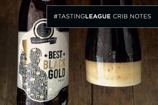 Tasting League Notes: Standeaven Best Black Gold Lager