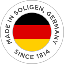 Made in Solingen, Germany, since 1814