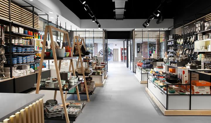 Interior view of Yuppiechef Willowbridge Store