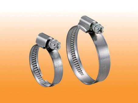NON-PERFORATED STAINLESS STEEL HOSE CLAMP