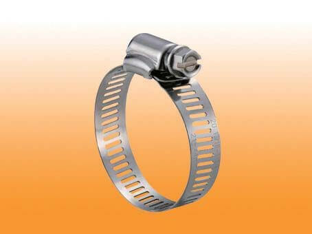PERFORATED HOSE CLAMP-STAINLESS STEEL