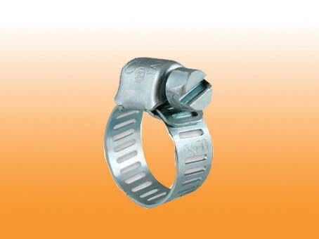 PERFORATED HOSE CLAMP-STEEL WITH ZINC PLATED