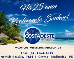 costa oeste turismo