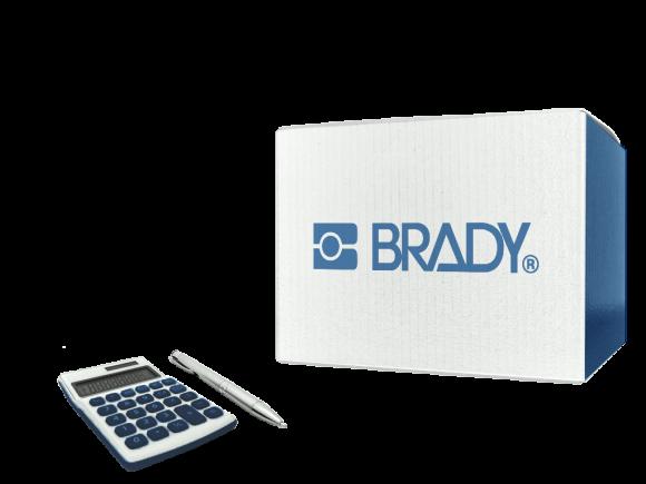 Brady Padlock Tag Do Not Operate/Peligro package