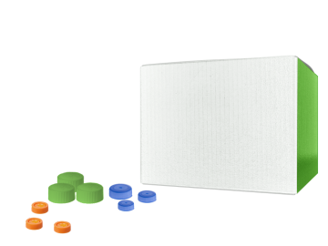 1 GAL WHITE PP PLASTIC CONTAINERS (EZ STOR HINGED LID)