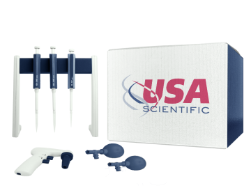 5-place wall mount pipette rack