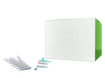 "Cardboard Freezer Box for PCR Tubes with 196-Place Divider, 8mm Cell Dimensions, 5 1/4 x 5 1/4 x 1"" (Formerly R8196)"