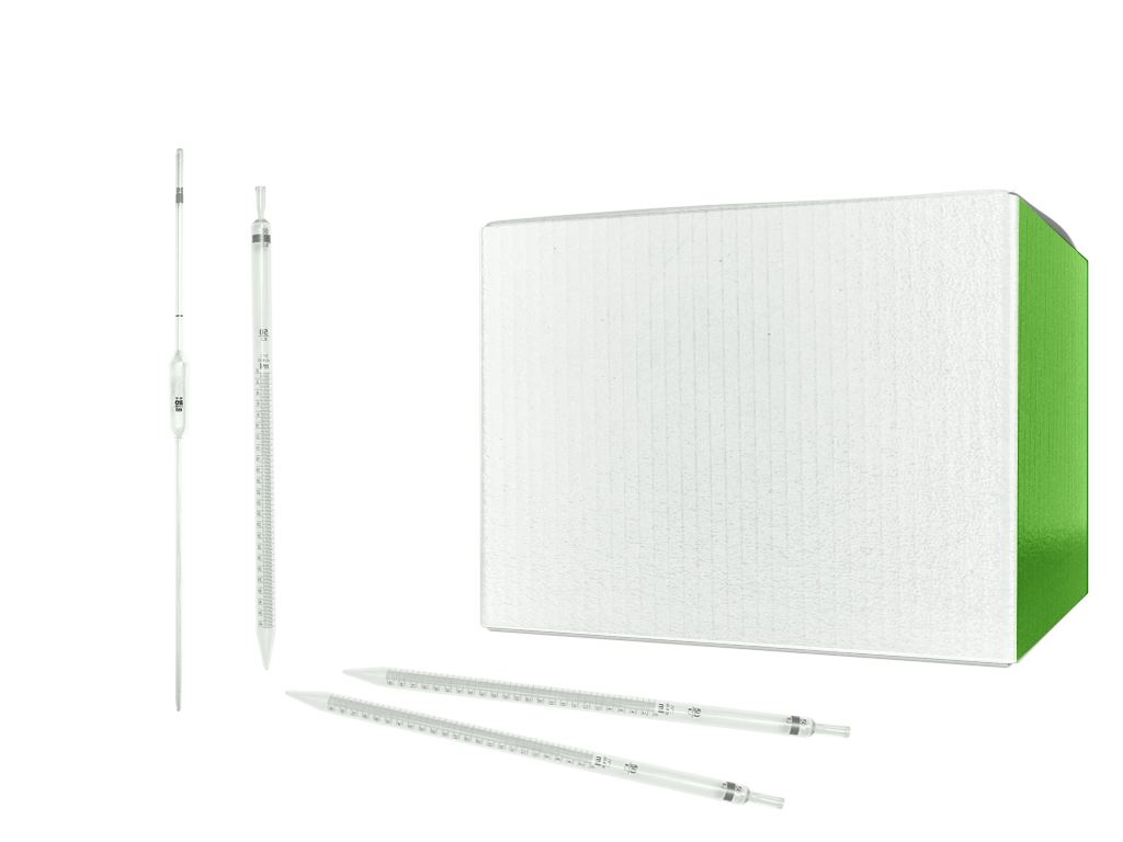 25 ml disposable serological pipets, individually wrapped