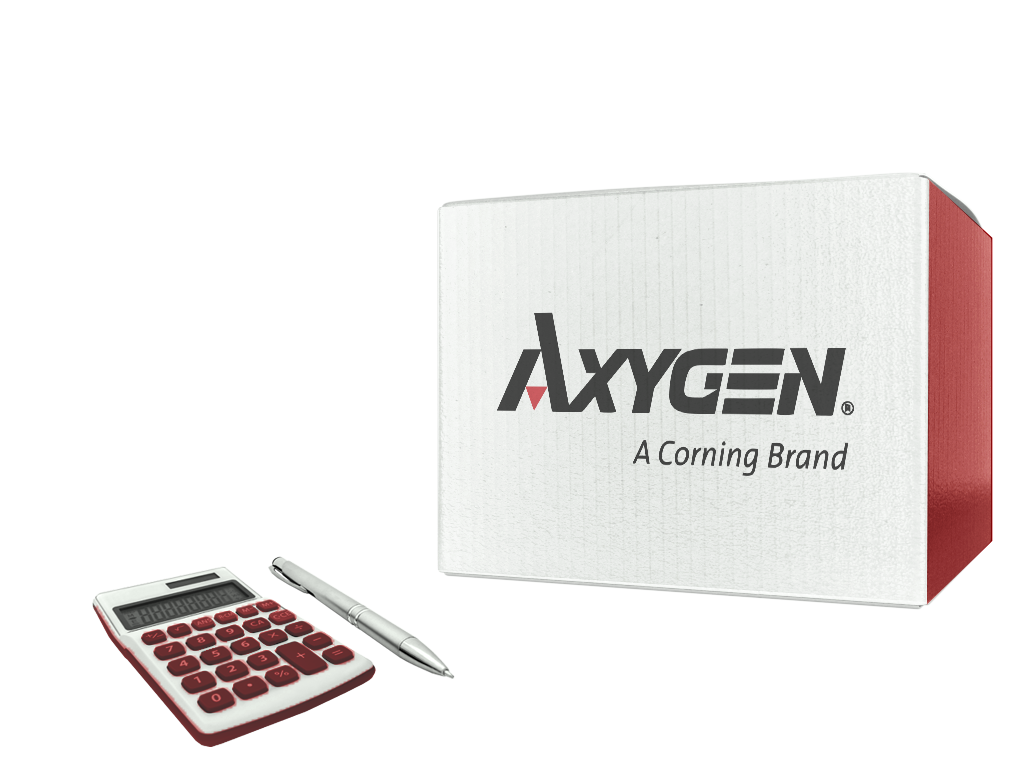 Sealing film, reflective, for PCR plates, Axygen® SKU: PCR-AS-200