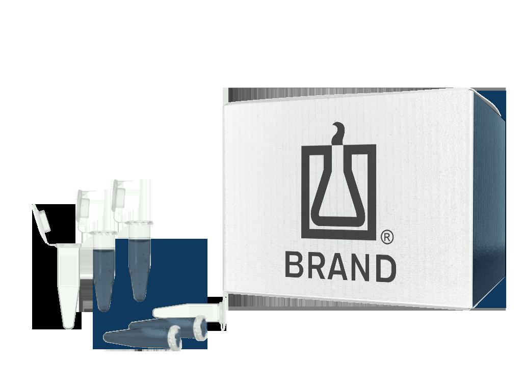 BRAND® microcentrifuge tube, 2 mL with lid, PP SKU : 780550