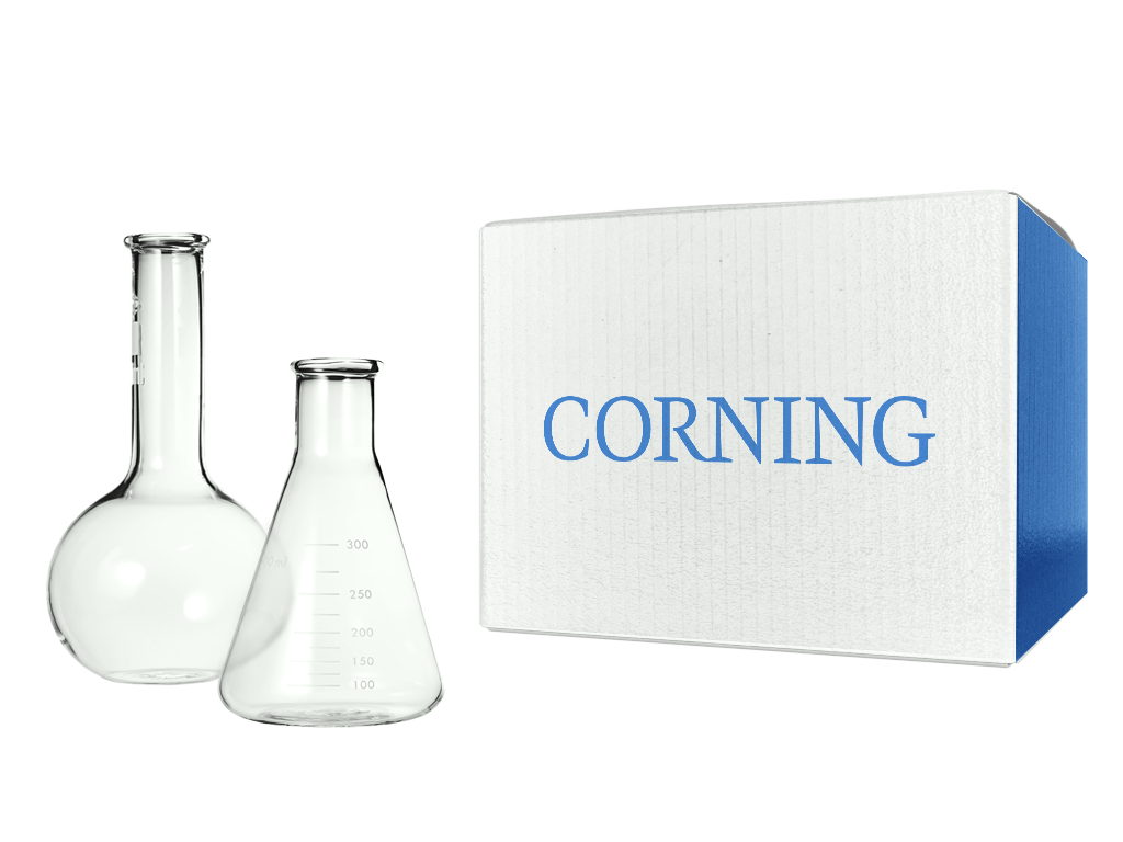 Corning 25cm2 Rectangular Canted Neck Cell Culture Flask with Phenolic-Style Cap SKU: 430372