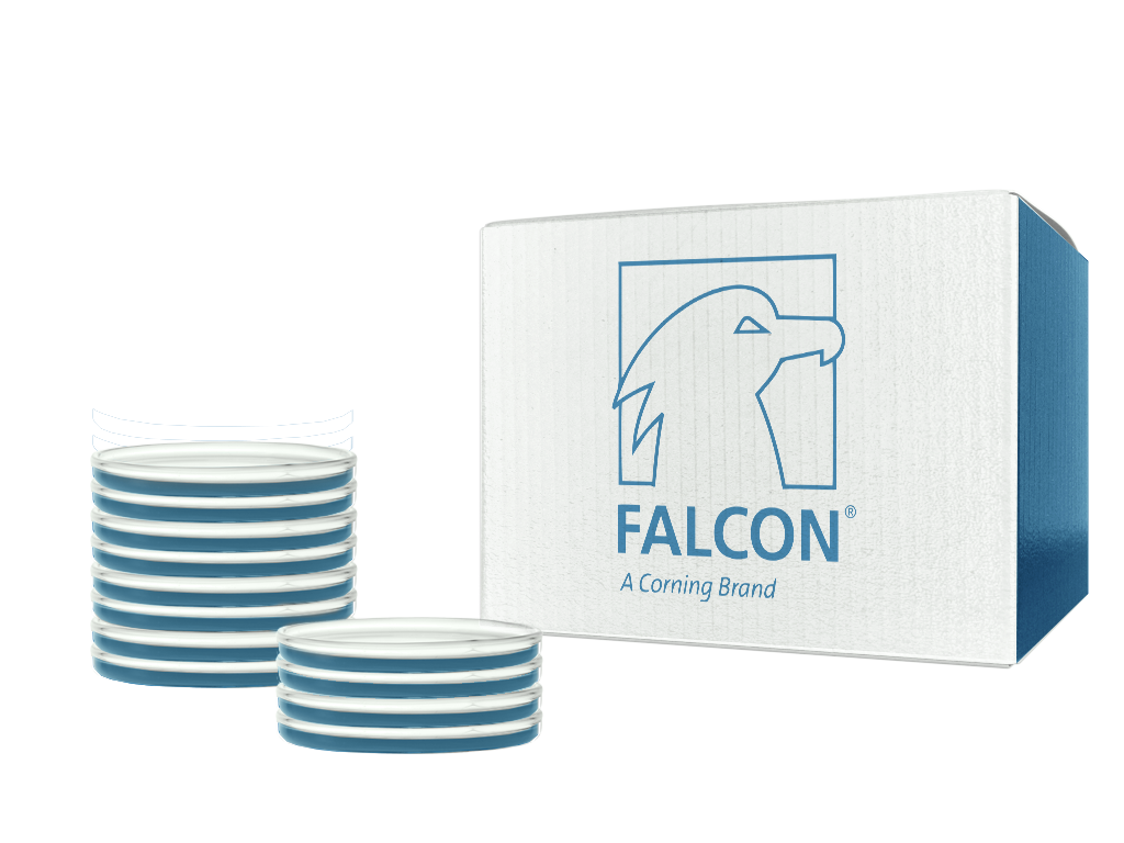 Corning™ Falcon™ Bacteriological Petri Dishes with Lid SKU: 351007