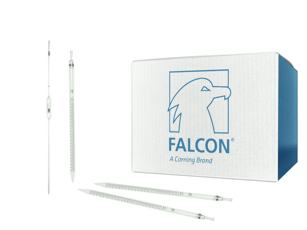 Falcon® 100 mL Serological Pipet, Polystyrene, 1.0 Increments, Individually Packed, Sterile SKU: 357600