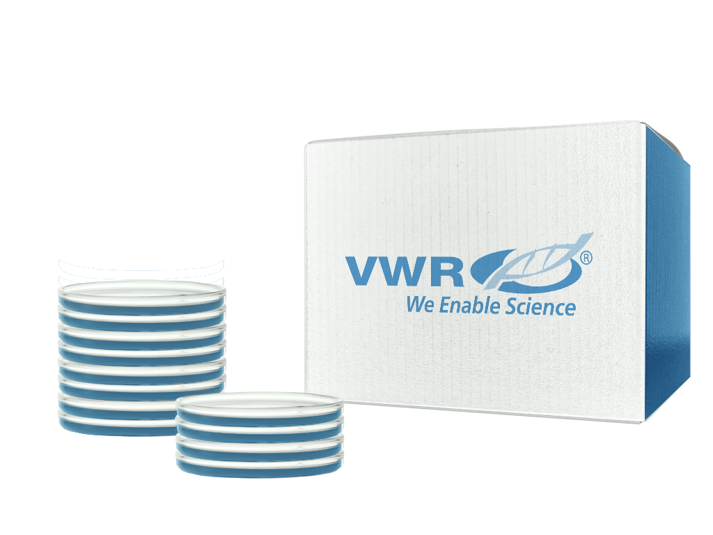 VWR® Easyplate™ 100 mm Petri Dish Racks - Yellow