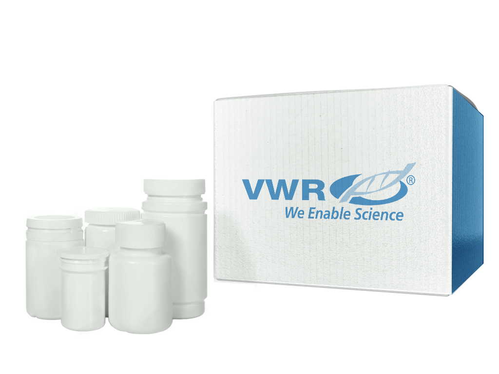 VWR® TraceClean® HDPE Wide Mouth Containers, Leakproof, Natural - NPC Certified