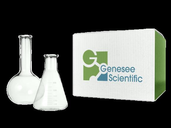 Genesee Scientific 600mL Sterile Flasks package