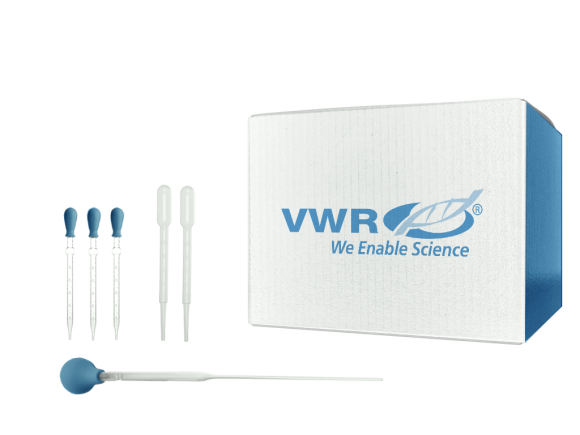VWR International VWR® Disposable Serological Pipets, Polystyrene, Sterile, Plugged, Individually Wrapped in Paper/Plastic, 2 mL package
