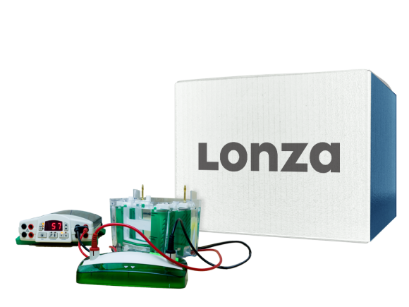Lonza TruBand™ Anchors for Latitude™ HS Series Precast Gels, SKU: 56991 package