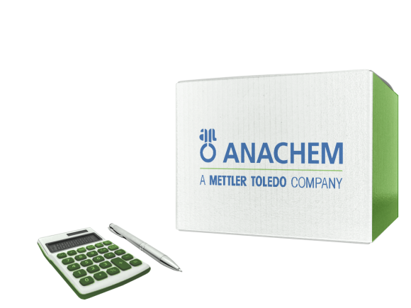 ANACHEM ID Tape Red55Mx25.4mm package