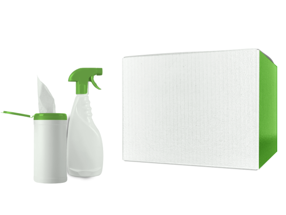 """Vileda Professional - FHP Export FHP UltraSpeed Mini Mop System-Kit, Vileda Professional-FHP - Frame and mop pads are 40 cm (16"""") case dimensions are 152 x 33 x 30 cm (60 5 / 8 x 13 7 / 9 x 13"""") package"""