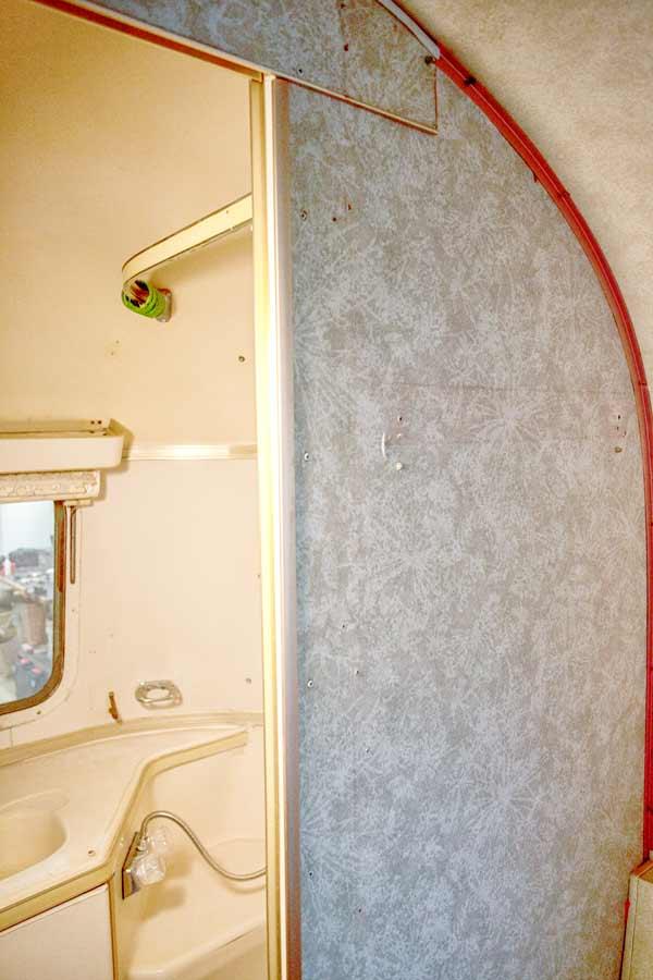 airstream bathroom bulkhead