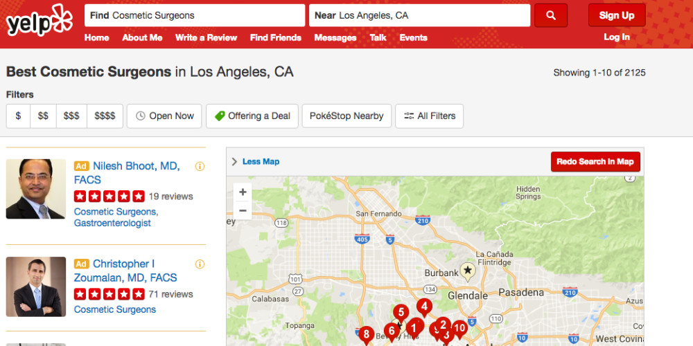 Yelp Patient Reviews Have Some Doctors Concerned - ZALEA Article Banner