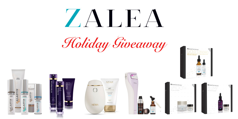 2017 ZALEA Holiday Giveaway - ZALEA Article Banner