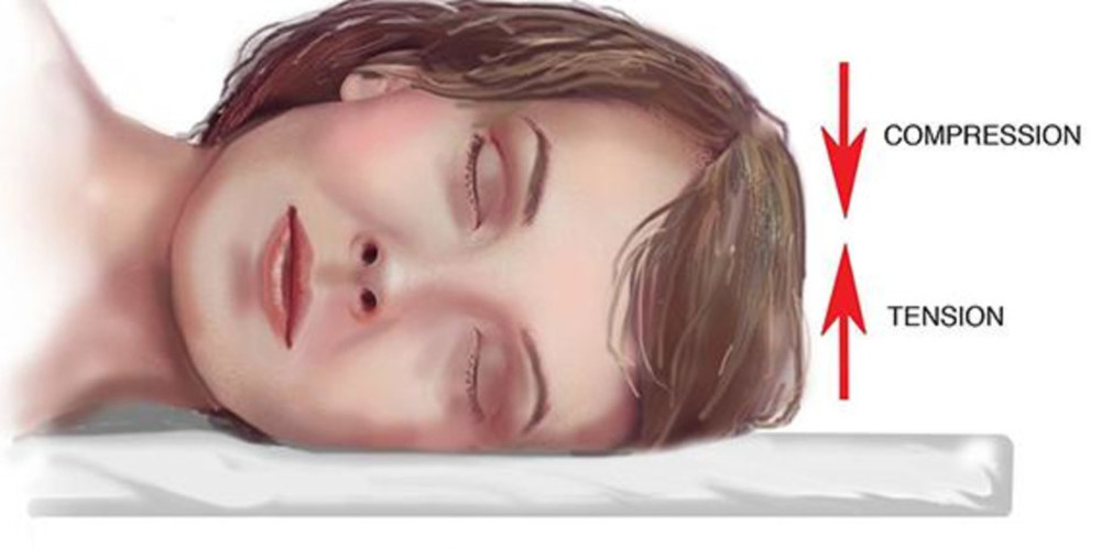 Stomach and Side Sleeping Positions Cause Facial Distortion and Wrinkles - ZALEA Article Banner