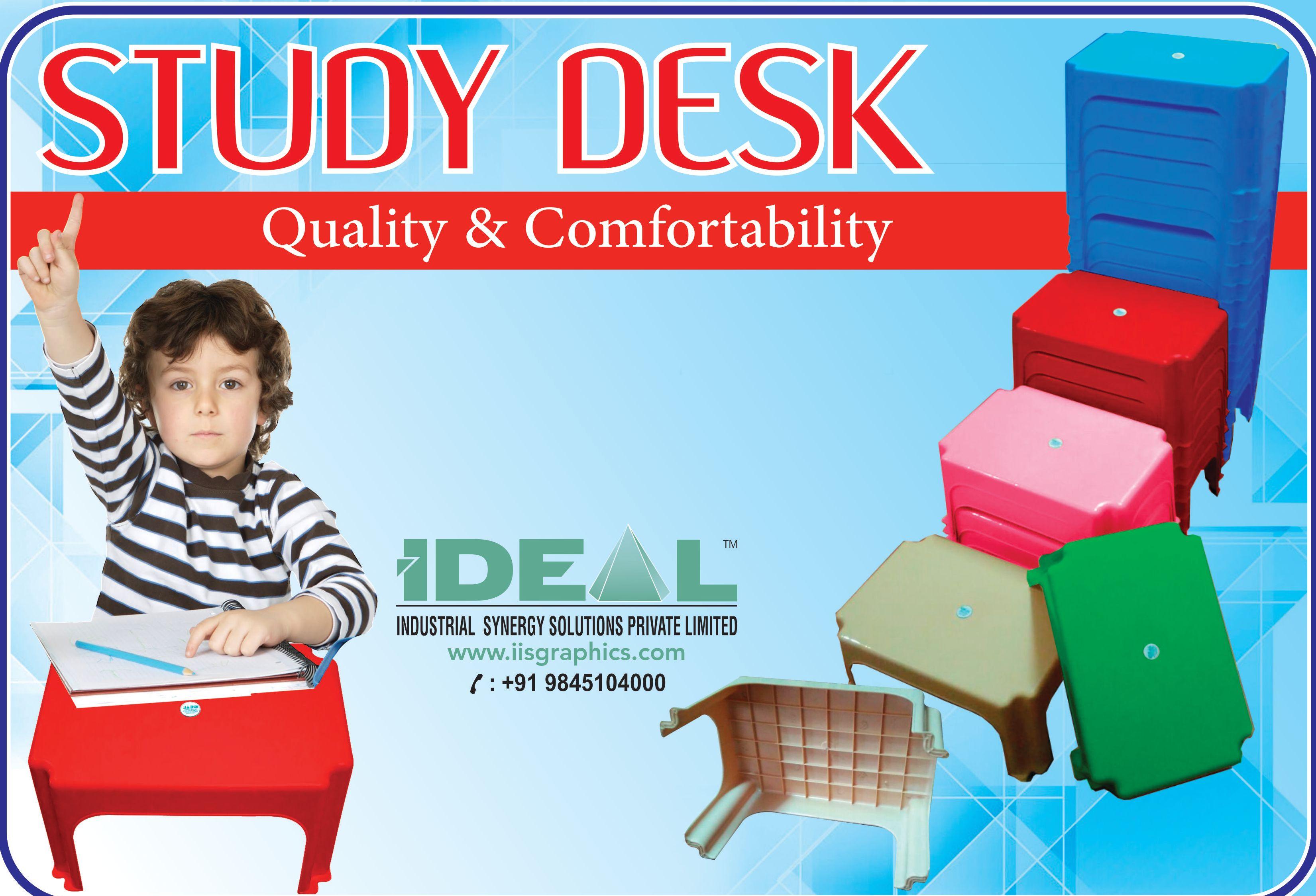 Plastic study table