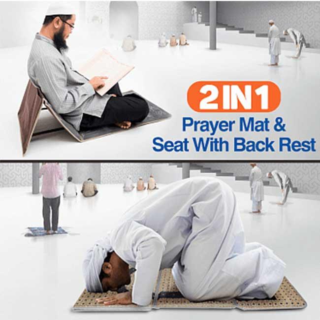 Medical Prayer mat and Backrest 2 in 1.