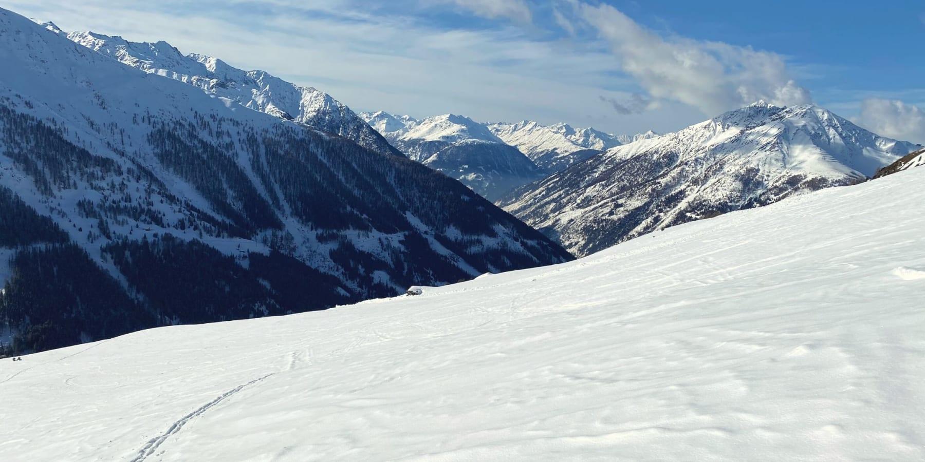Skitour zum Figerhorn über die Greiwiesen von Gottfried Tönig