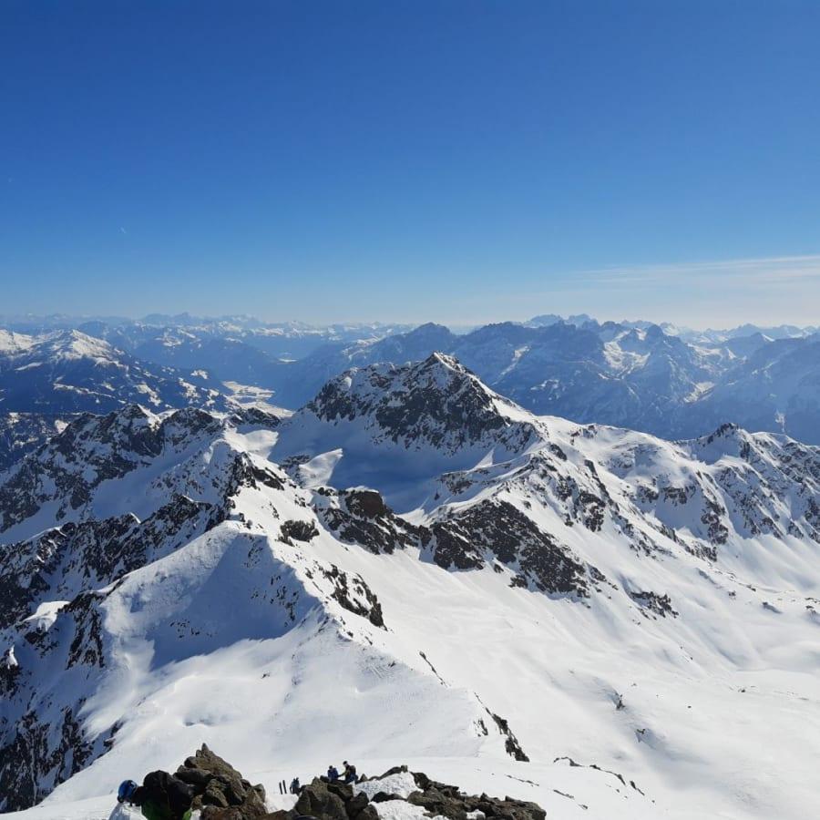 Ausblick Hoher Prijakt Richtung Schleinitz
