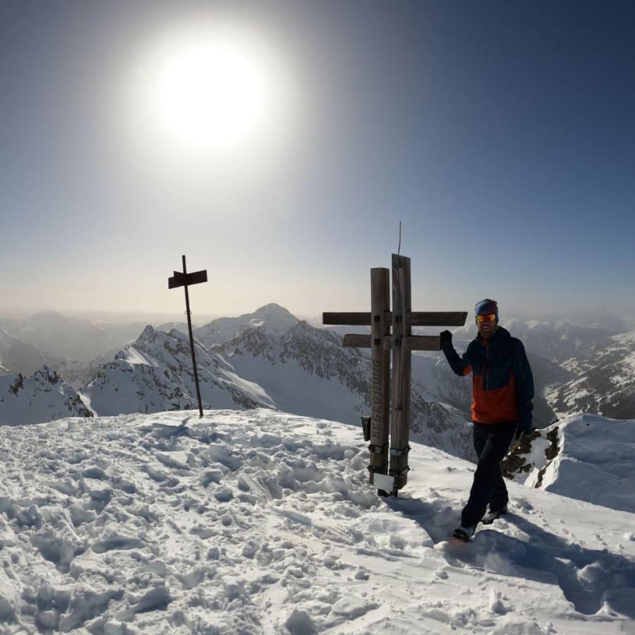 Gipfelkreuz Regenstein