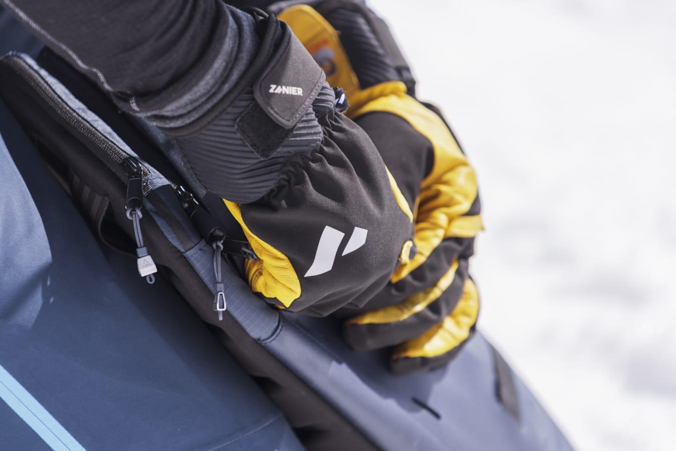 Laserz.TW Tirolwool Zanier Handschuh Glove