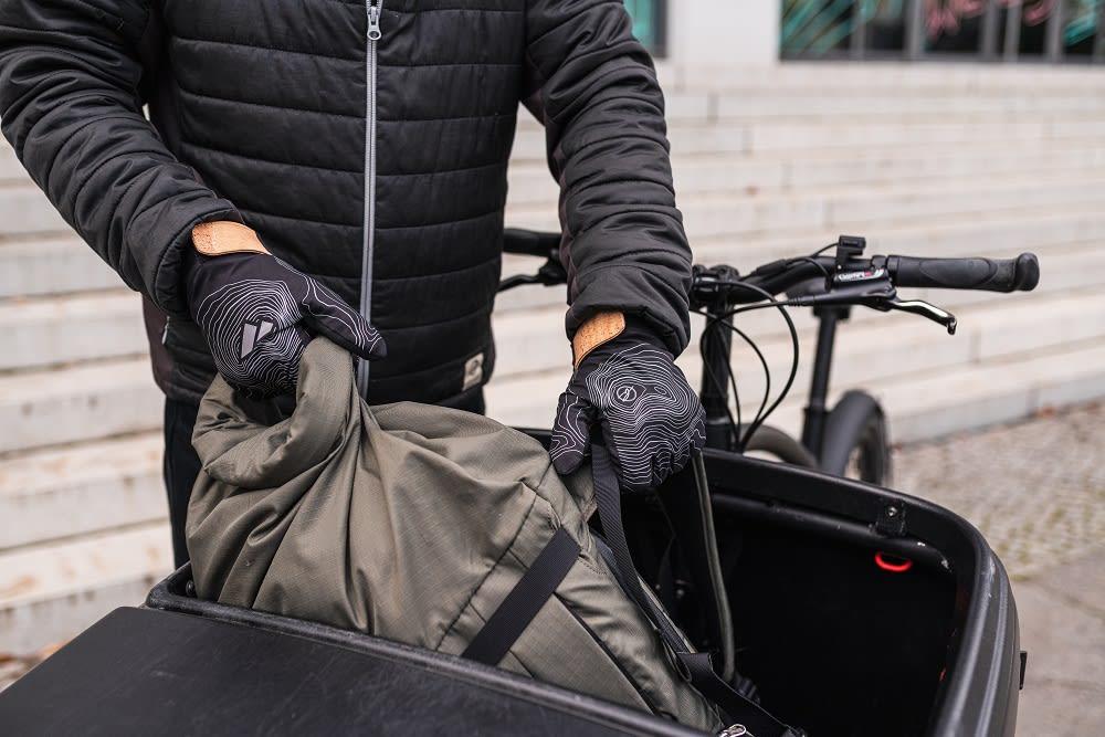 Bleed Zanier Eco Active Glove nachhaltiger Handschuh Ispo Award Gewinner