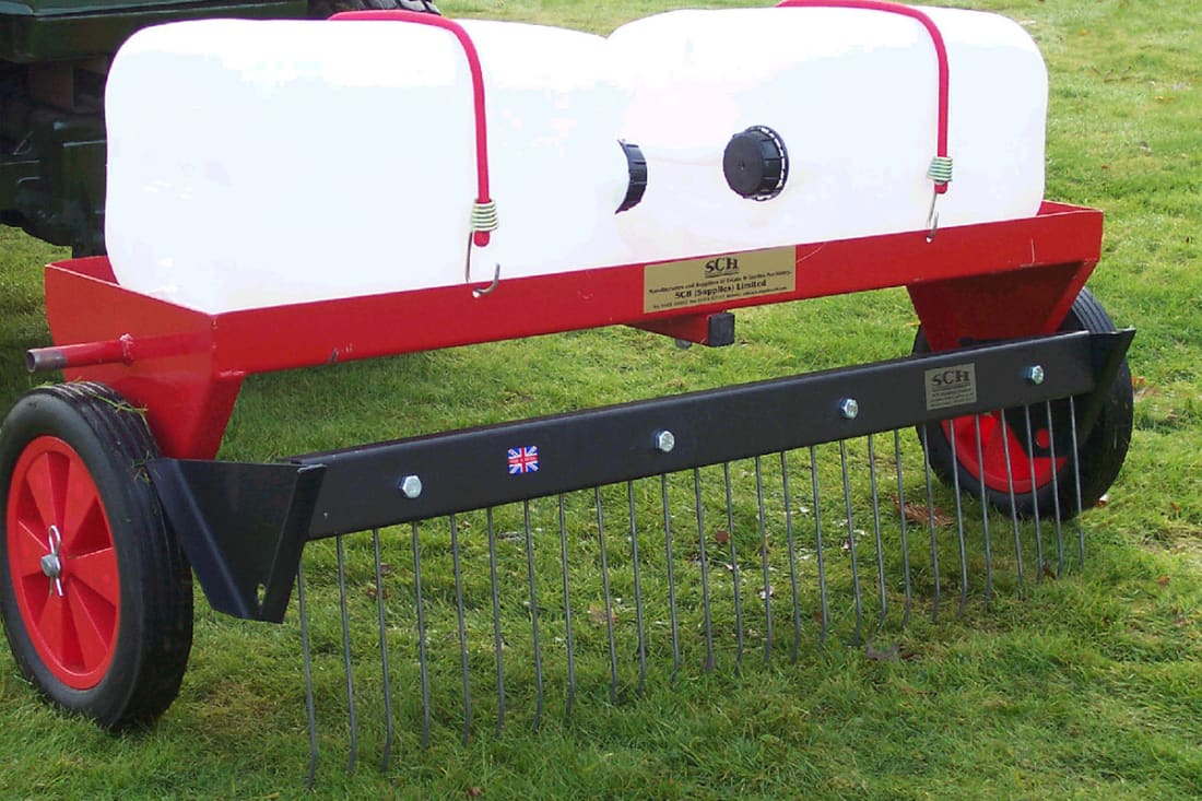 SCH HGM 40 inch Heavy Duty Moss Rake Attachment