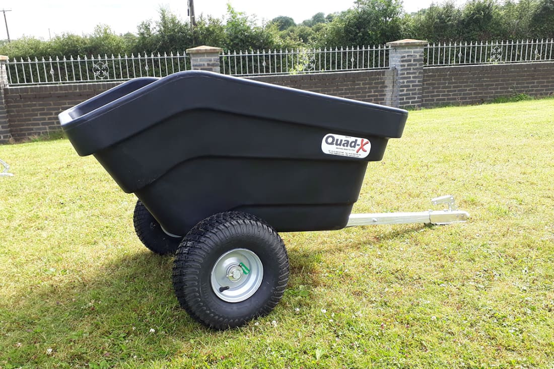 Quad-X 300L Plastic Tipping Trailer