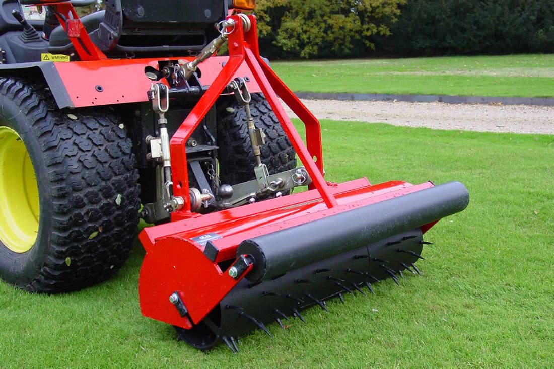 SCH 3SSR36 36 inch Mounted Sorrel Roller