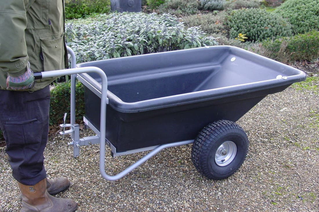SCH PTPTB 500kg Plastic Bodied Trailer Barrow Hitch