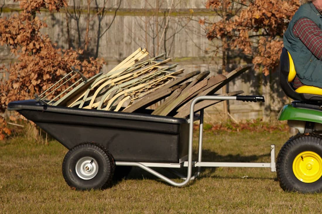 SCH PTPTB 500kg Plastic Bodied Trailer Barrow Towed