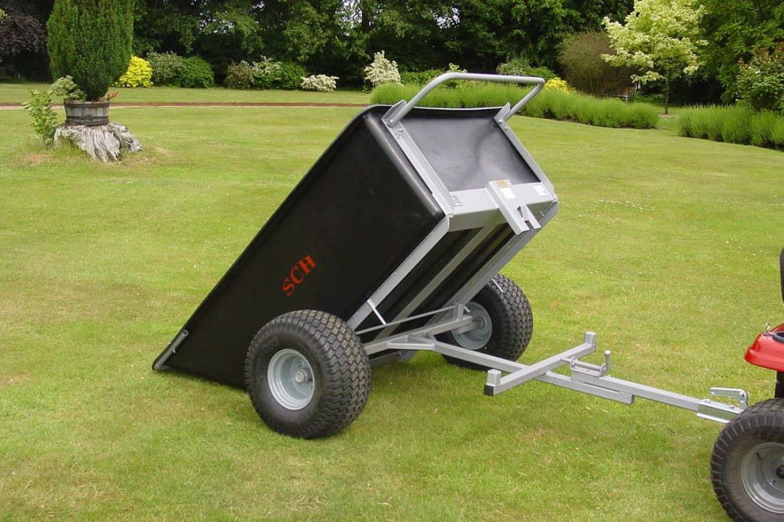 SCH LCPTP 500kg Large Capacity Plastic Trailer Tipping