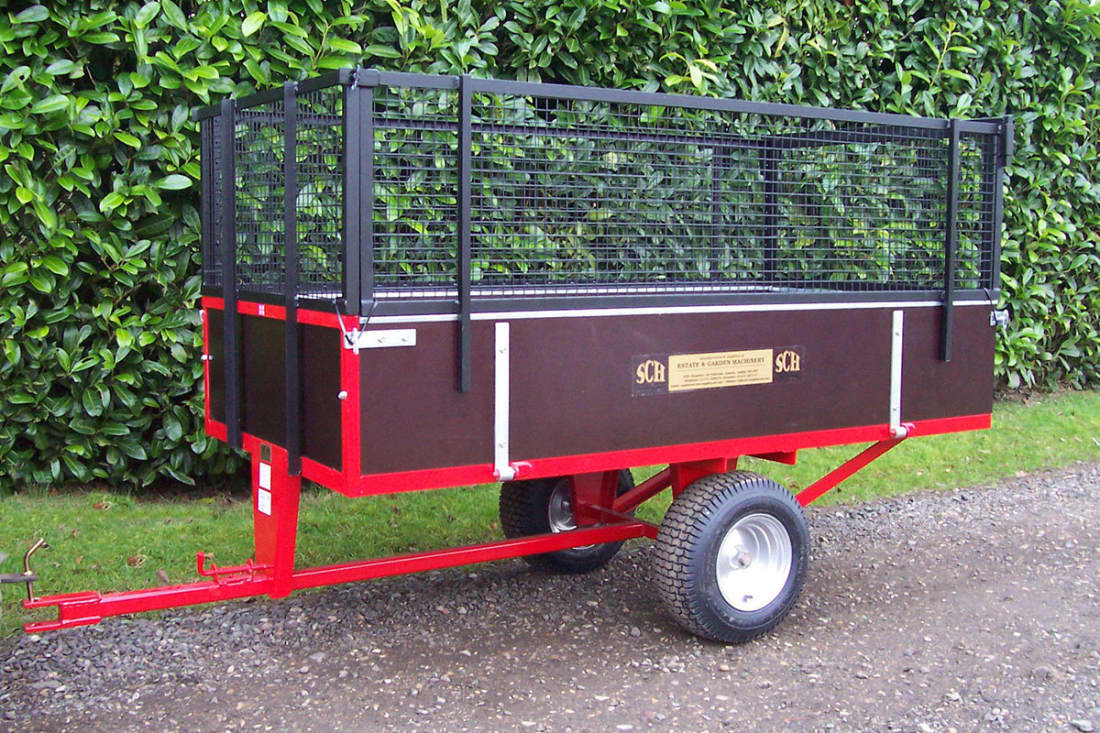 SCH GWTS15 760kg Two-Wheel Timber Tipping Trailer