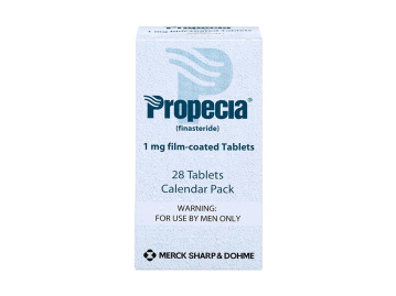 28 pack of Propecia 1mg film-coated finasteride tablets
