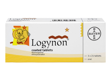 63 pack of Logynon levonorgestrel and ethinylestradiol oral tablets