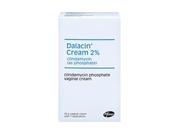 Pack of 1 tube of 40g Dalacin 2% clindamycin phosphate vaginal cream with 7 applicators